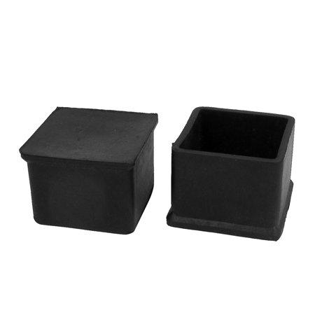 45mmx45mm Square Rubber Furniture Leg Cap Foot Cover