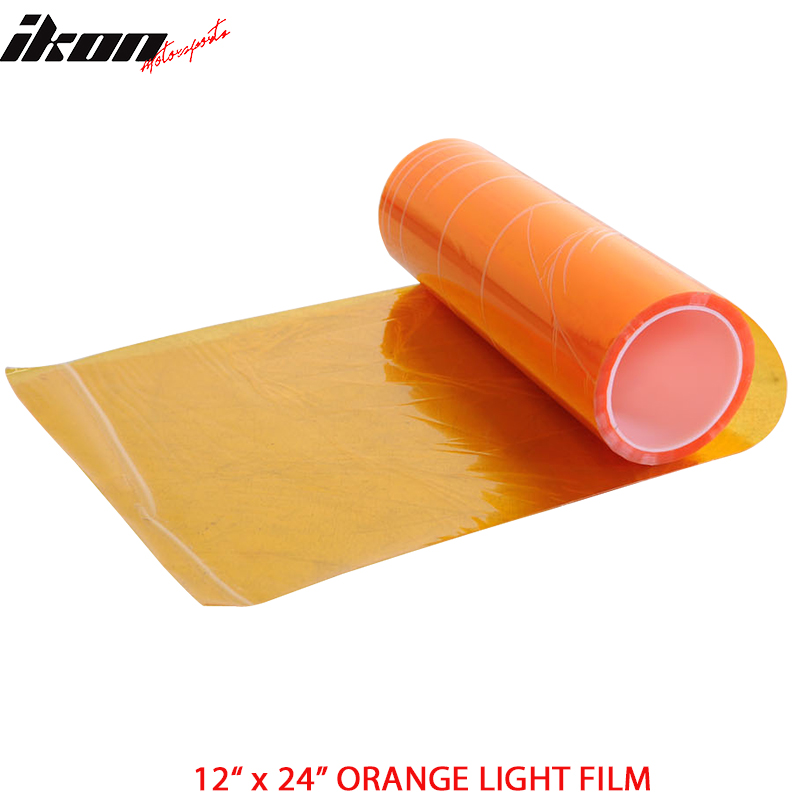 2 Piece 12 x 24 Inch Headlight Tail Light Fog Lamp Film Sheet Most Popular Color