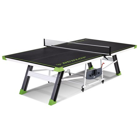 Dunlop Lenox Table Tennis with net and post set, Official tournament size 108 inch x 60 inch x 30 inch, (Joola Snapper Table Tennis Net And Post Set)
