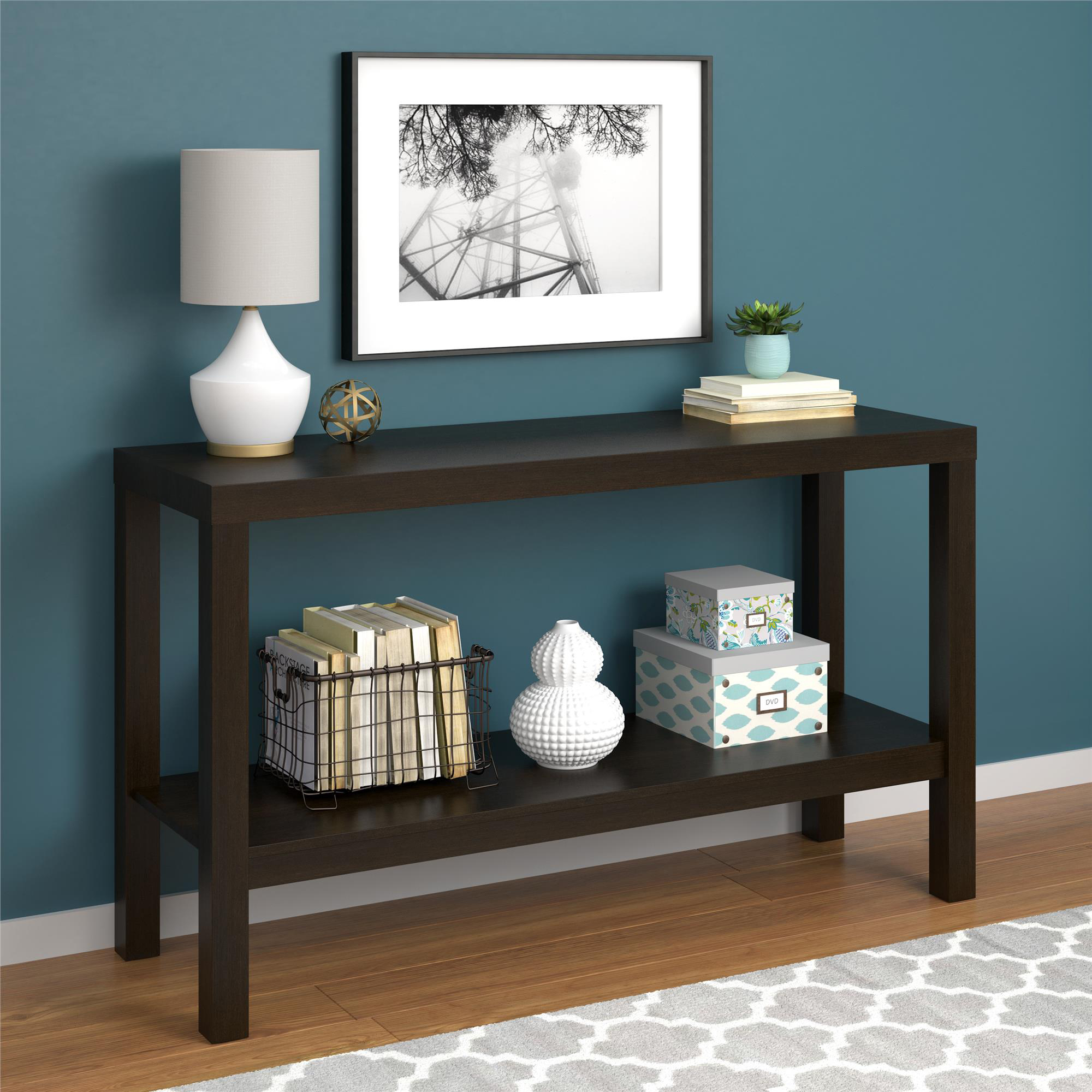 Mainstays Parsons Console Table, Multiple Colors Available by