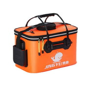 Electronicheart EVA Collapsible Fishing Bucket Folding Water Container Storage Bags Boxes Organizers