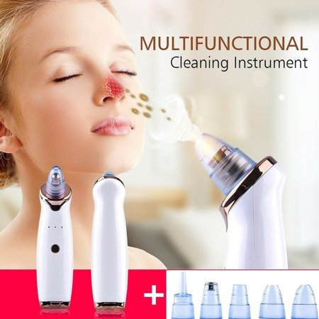 2019 New Blackhead Vacuum Acne Cleaner Pore Remover Electric Skin Facial Cleanser (Best Skin Care In The World 2019)