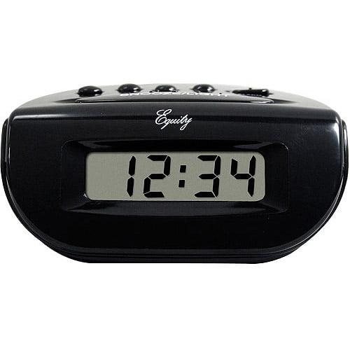 Equity by La Crosse Digital Alarm Clock by La Crosse Technology
