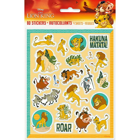 Lion Sticker Sheet (The Lion King Sticker Sheets)
