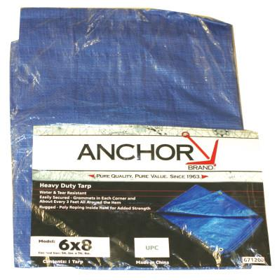 Trubolt Wedge Anchor Carbon - Anchor 11022 8X12' Polyethylene Tarp Woven Lamin