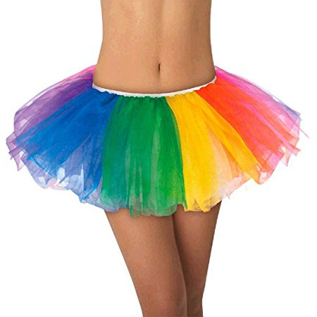 TEAM SPIRIT RAINBOW TUTU - Spirit Halloween Supplies
