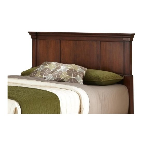 on sale bfd28 3f6ec Home Styles The Aspen Collection King/California King Headboard, Rustic  Cherry/Black