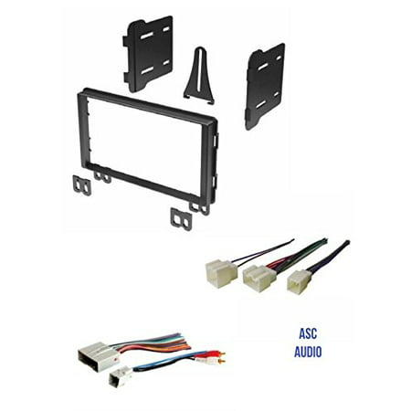 double din car stereo radio install kit and wire harness. Black Bedroom Furniture Sets. Home Design Ideas