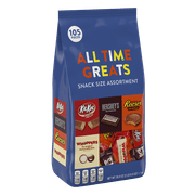 Hershey's, All Time Greats Snack Size Candy Assortment, 38.9 Oz.