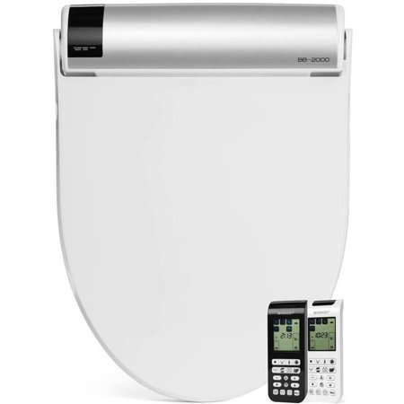 BioBidet BB-2000 Bliss Elongated Bidet Toilet Seat, White