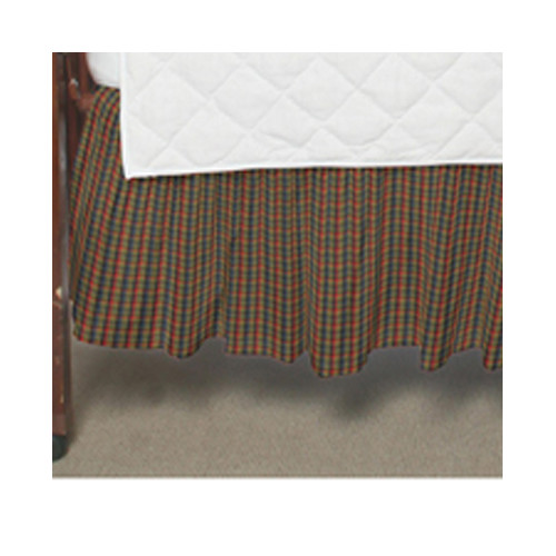 Patch Magic Plaid Fabric Crib Dust Ruffle by Patch Magic