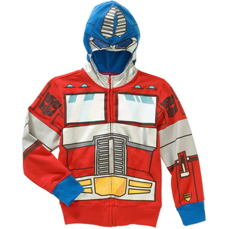Transformers Optimus Prime Boys Costume Hoodie (Transformers Costume For Sale)