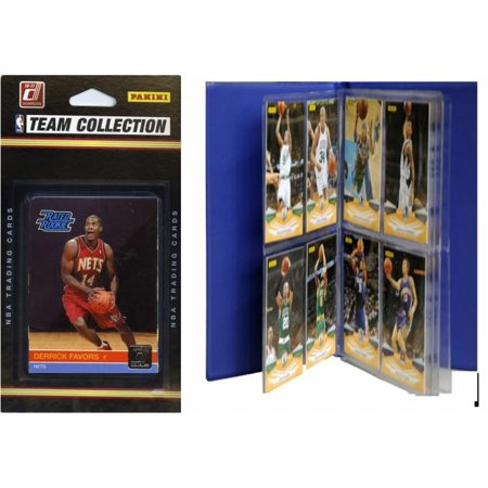 C & I Collectables 2010NETSTS NBA New Jersey Nets Licensed 2010-11 Donruss Team Set Plus Storage (New Jersey Outlets Stores)