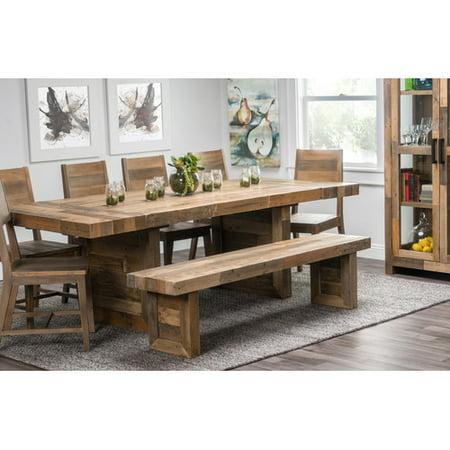 Loon Peak Needham Extendable Dining Table Walmartcom - Farm table needham