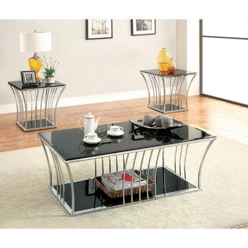 Hokku Designs Villaine Coffee Table Set