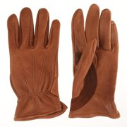 Tuff Mate Gloves Mens Tuff Mate 1888 Authentic Western Deerskin Driver Gloves XXL Tan