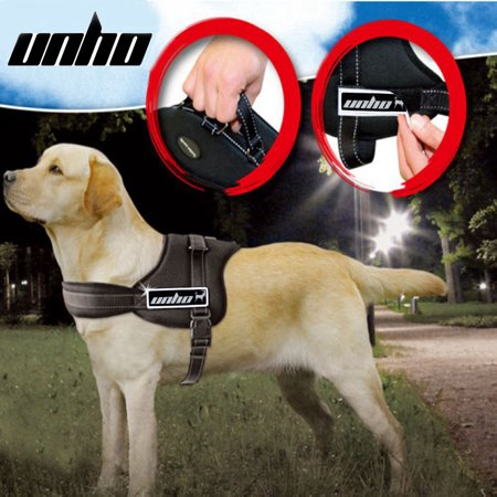 UNHO No Pull Dog Harness Comfortable Heavy Duty Adjustable No Chock