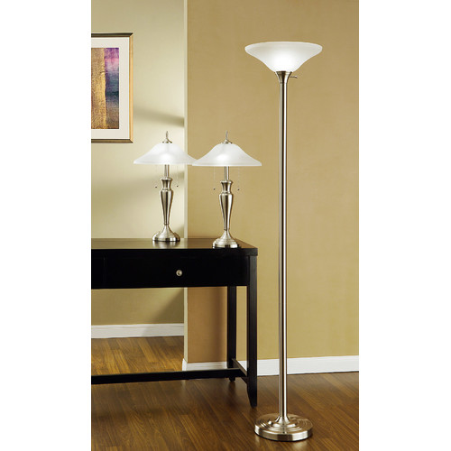 Artiva USA 3 Piece Table and Floor Lamp Set
