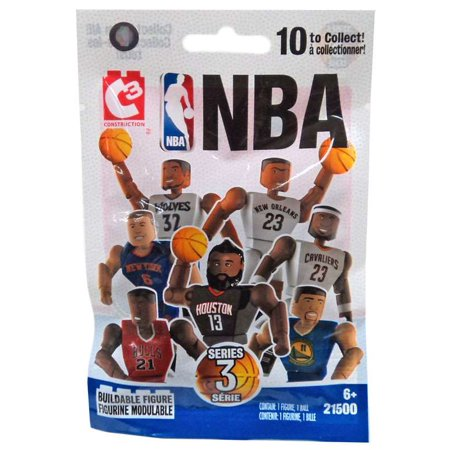 NBA C3 Construction Series 3 Buildable Figure Mystery Pack