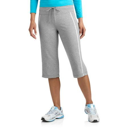 Danskin Now Women's Dri-More Core Piped Bermuda Shorts