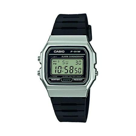 F-91WM-7A unisex quartz wristwatch