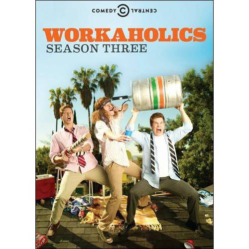 WORKAHOLICS-SEASON 3 (DVD) (4DISCS)