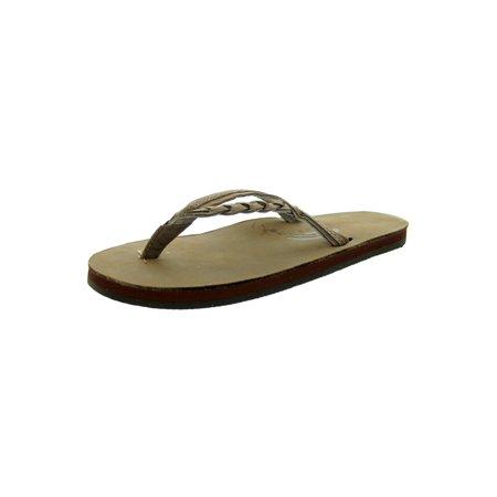 965d18127476 Rainbow Sandals - Rainbow Women s Flirty Braidy Dark Brown Sandals ...