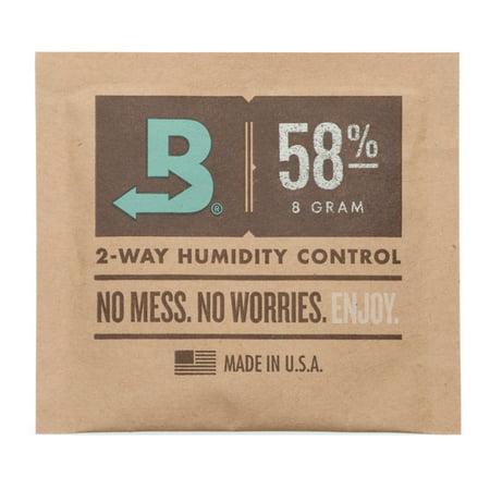 Boveda 8-Gram Humidity Pack (58% RH, Single Unit)