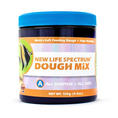 New Life Spectrum Dough Mix All-Purpose Nutrient-Dense Fish Food, 120 g