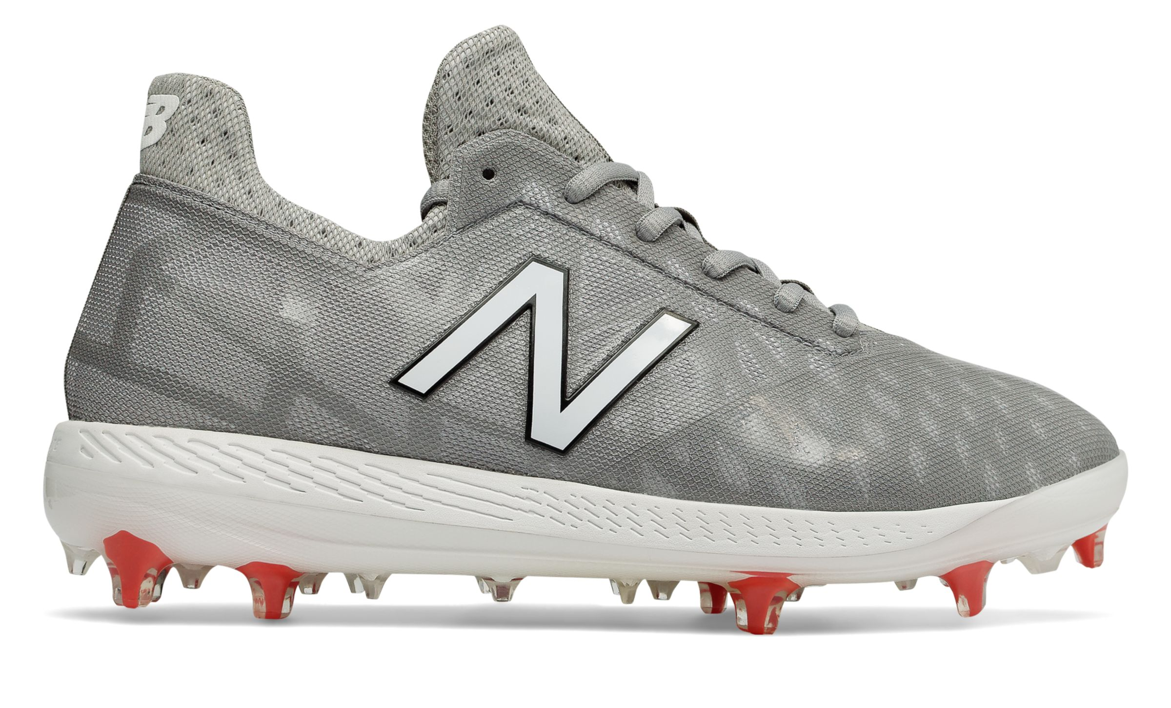 New Balance COMPv1 Baseball Cleat COMPTG1-10 Grey//White