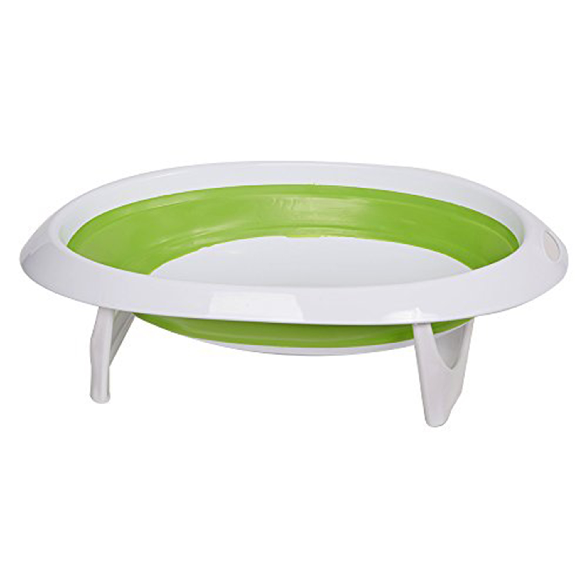 KARMAS PRODUCT Infant EasyStore Comfort Tub Soft Foldable Newborn Bathtub Green by KARMAS PRODUCT
