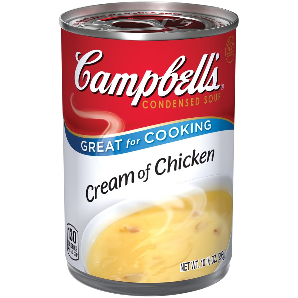 Campbells Condensed Soup, Cream of Chicken, 10.5 Oz by Campbell's