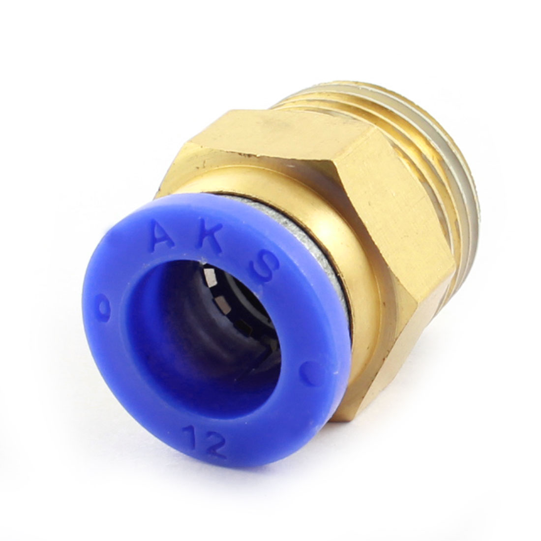 Unique Bargains Air Compressor 1/2PT to 12mm Pipe Hose Quick Coupling Connector Adapter