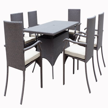 JJ Designs Vista 7 Piece Patio Dining Set ()