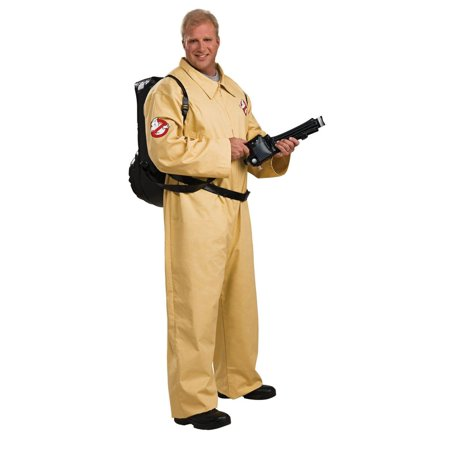 Ghostbusters Deluxe Costume Adult Plus Plus - Ghostbusters Costume For Men