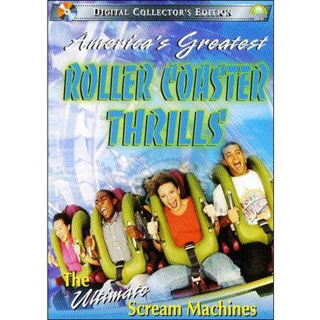 Americas Greatest Roller Coaster Thrills  The Ultimate Scream Machines  Full Frame