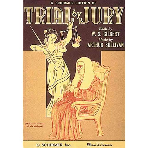 Trial by Jury/Vocal Score