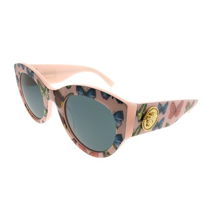 Versace  VE 4353 528687 Womens  Cat-Eye (Pink Versace Glasses)