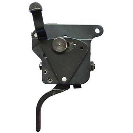 Timney Triggers Rem 700 Straight Nickel Plated With Safety  Right Handed