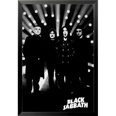 Sabbath Light - Buyartforless FRAMED Black Sabbath Spotlights 36x24 Music Art Print Poster