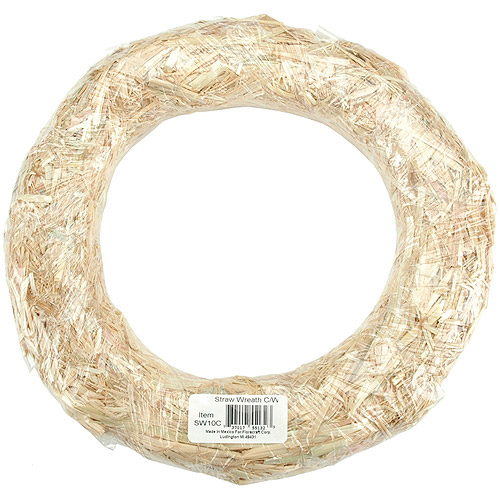 Floracraft Straw Wreath
