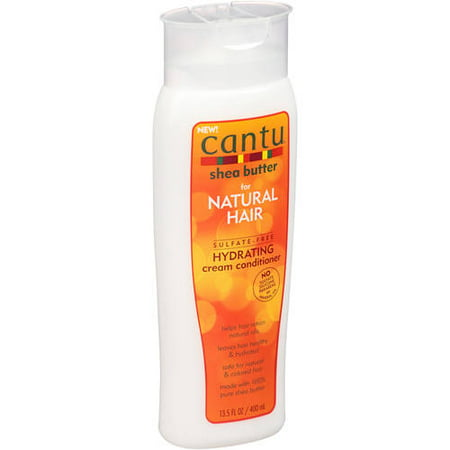 - Cantu Shea Butter for Natural Hair Hydrating Cream Conditioner, 13.5 Oz