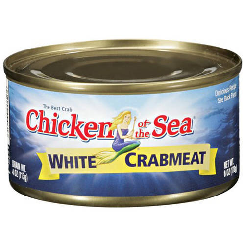 Chicken of the Sea White Crabmeat, 6 oz, (Pack of 4) by