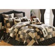 Primitive Patchwork Quilt 6 Piece Kettle Grove Set