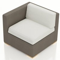 Orren Ellis Related Post Teak Patio Chair with Cushion