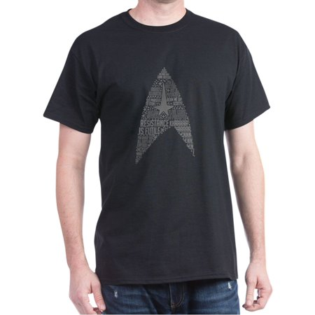 Star Trek Starfleet Insignia Quotes - 100% Cotton T-Shirt