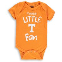 Tennessee Volunteers Infant Daddy's Little Fan Creeper - Tennessee Orange