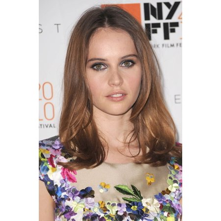 Felicity Jones At Arrivals For 48Th New York Film Festival Centerpiece Premiere Of The Tempest Rolled Canvas Art     8 X 10