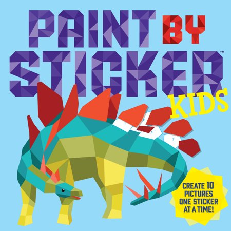 Paint by Sticker Kids - Paperback - Halloween Activities For Children's Church
