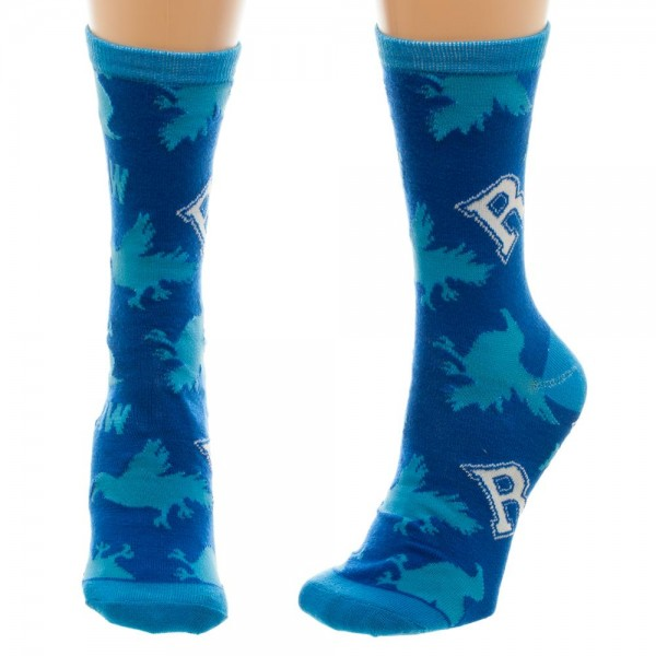 Crew Sock - Harry Potter - Ravenclaw Jrs New Licensed cr47qbhpt